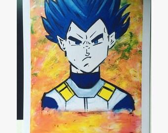 Vegata Fan Art Print