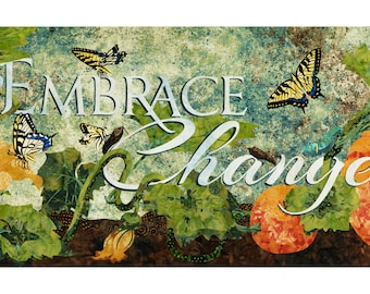 Embrace Change Fine Art Print by Kestrel Michaud