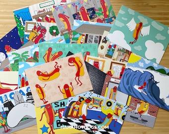 POSTCARDS - The Entire Set (20 postcards)