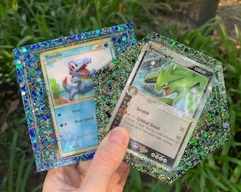 Custom Pokémon Card Resin Coasters