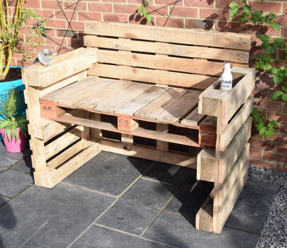 Magnificent Reclaimed Pallet Wood Garden Bench Pdpeps Interior Chair Design Pdpepsorg