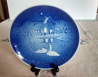 2 Royal Copenhagen Collector Plates