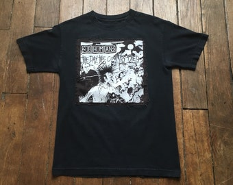 """DIY Subhumans """"The Day The Country Died"""" vintage band shirt-M"""