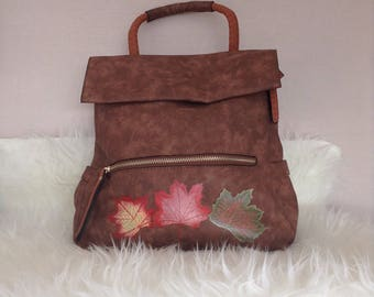 Backpack (autumn leaves)