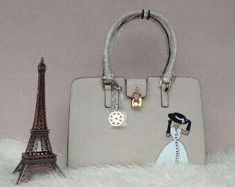 Handbag (lady with a hat)