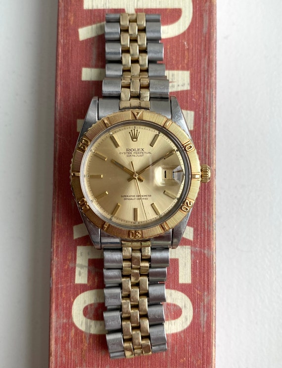 "Vintage Rolex Datejust 60s Ref 1625 ""Thunderbird""… - image 2"
