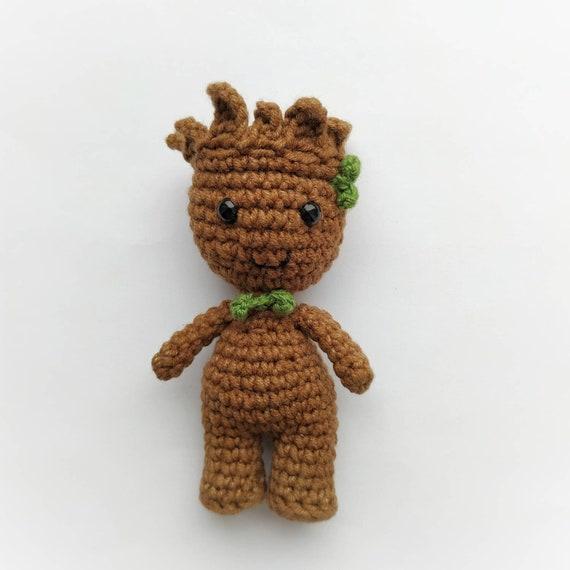 Free Crochet Groot Pattern | AllFreeCrochet.com | 570x570