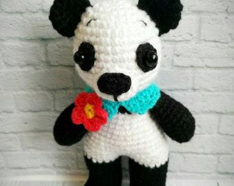 Crochet Panda Lucy Amigurumi  toy for children