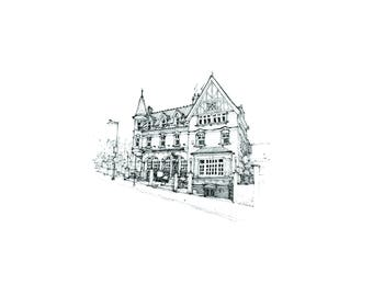The Old Crown Inn - Limited Edition, Signed Print