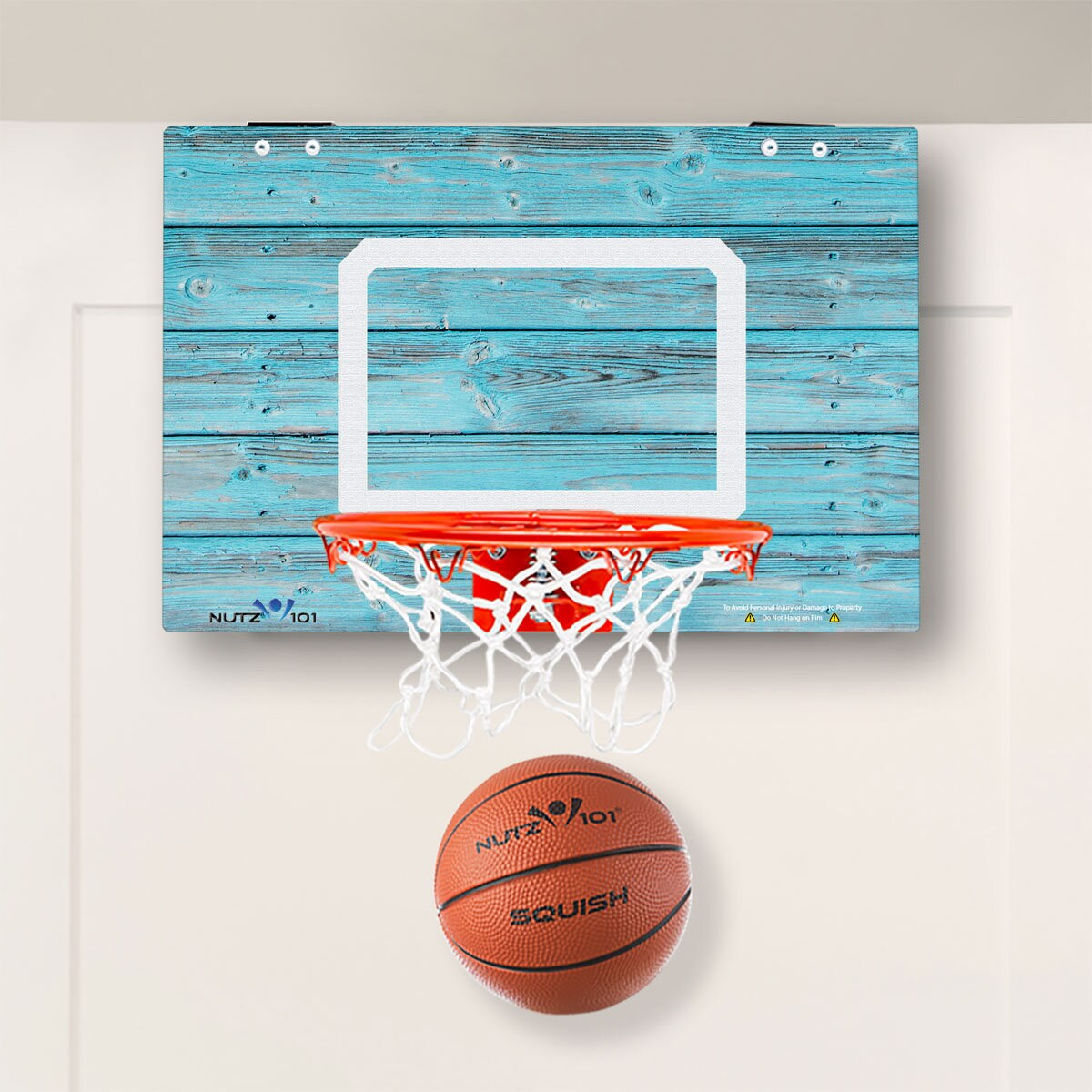 efcb37efc68 Custom Classic Rustic Beach Wood Imaged Mini Basketball Hoop | Etsy