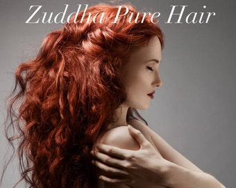 Zuddha Pure Hair - 100% Natural Plant-Based Color & Conditioner
