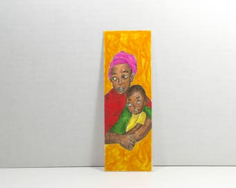 Mother and Son Bookmark