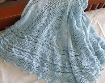 Signature Collection - Baby Blanket Knitted   Blankets For Babies   Baby Shower Gifts   DSS Handmade