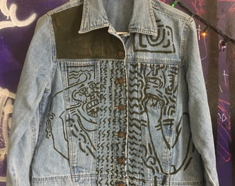Up And Out Jean Jacket
