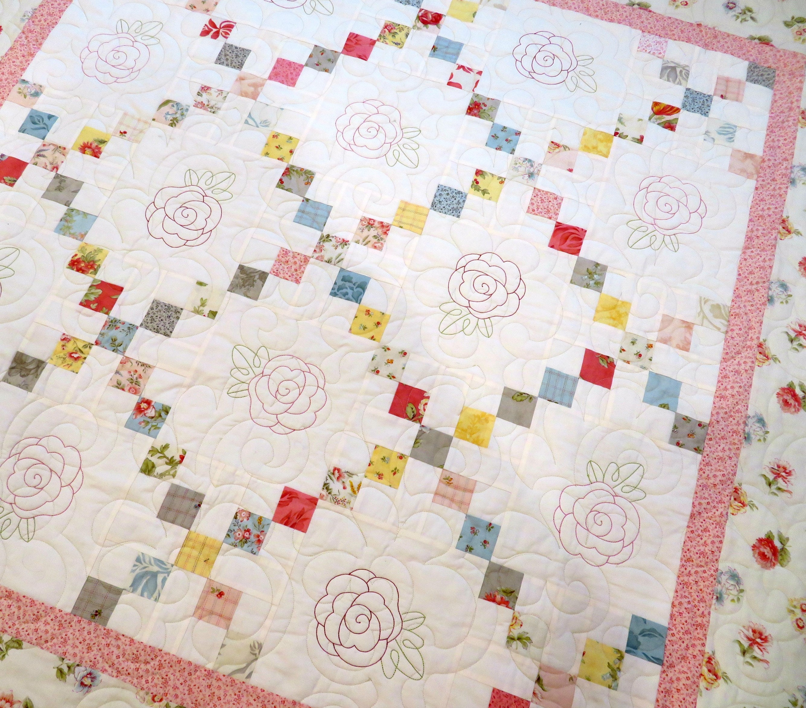 Irish Chain Quilt Pattern New Decorating