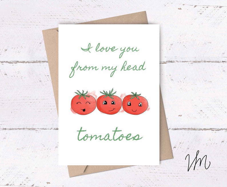 photograph relating to I Love You Card Printable named Tomatoes Card ~ I delight in on your own card, Wondering of by yourself Card, Least complicated Buddy Playing cards, Lovable Playing cards, Printable Playing cards, Lovely Playing cards, Tacky Playing cards