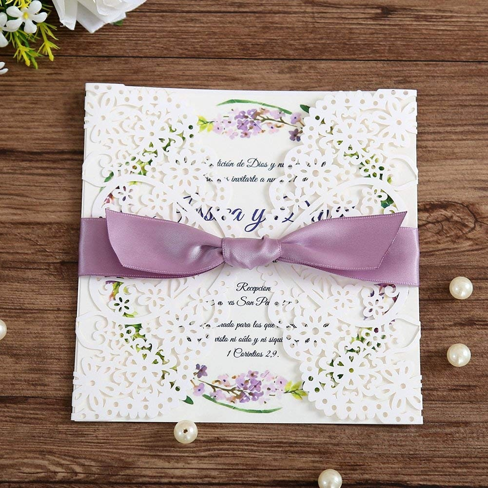 50: Pea Wedding Invitations Cut Out At Websimilar.org