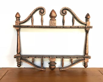 Copper jewelry rack Etsy