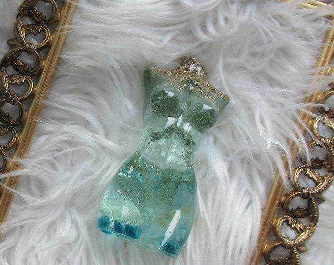 Glitter and Resin Goddess Statue | Goddess Figurine | Resin Statue | Goddess Art | Best Friend Gift | Resin Art | Goddess Gift
