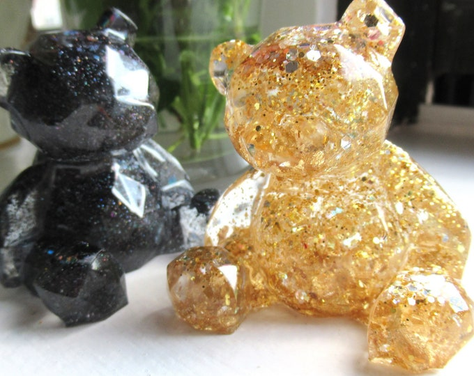 Resin Bears | Personalized Gifts for Mom | Mothers Day Gift | Resin Gummy Bear | Resin Bear | Teddy Bear | Baby Shower Gift | Pregnancy Gift