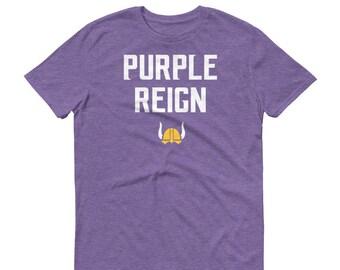 Purple Reign Minnesota Vikings Football Fan Miracle Skol Mens Unisex  Short-Sleeve T-Shirt df81cc017