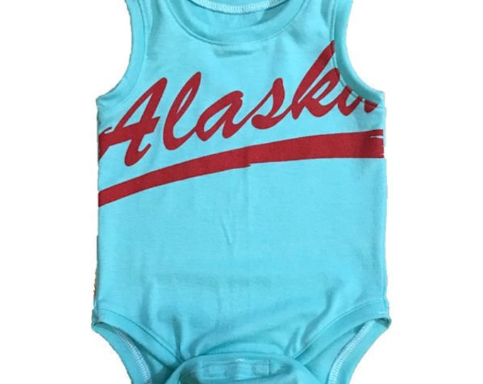 One of a Kind - Alaska Tank Onesie - 6-9m