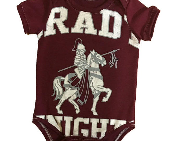 One of a Kind - Grady Knights Short Sleeve Onesie - 12-18m