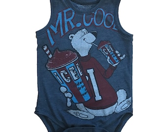 One of a Kind - ICEE Mr. Cool Tank Onesie - 18-24m