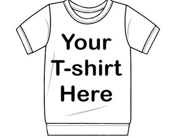 Custom Recycled T-shirt - Baby or Child Short Sleeve T-shirt