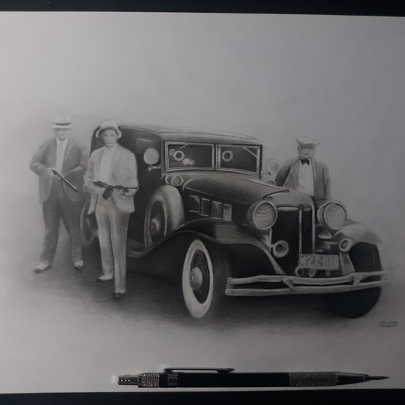 Signed Classic Drawing