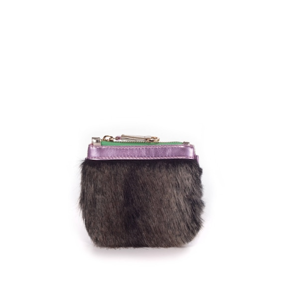 c3e109bde5 Vegan Fur Purse Fur Faux Fur Bucket Bag vegan purse vegan
