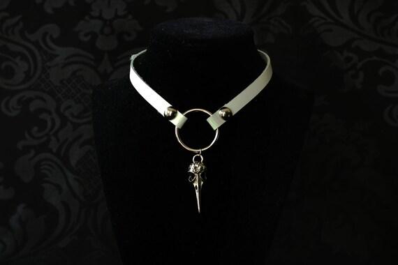 Medieval Renaissance Costume Genuine Infinity Leather Slave Bondage Gear Collar
