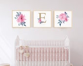 Nursery Decor, Floral Pri...