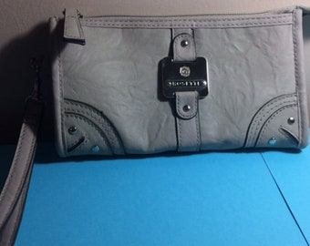 Purse, Clutch Roomy Inside with Zipped Pocket on the Outside