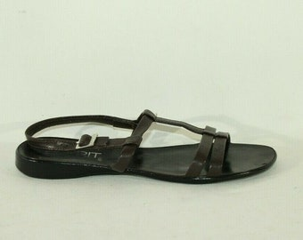 Burgundy Velvet Mary Jane Flats 1990s Vintage Esprit Ballet Flats Grunge Shoes 90s Fashion Size 10
