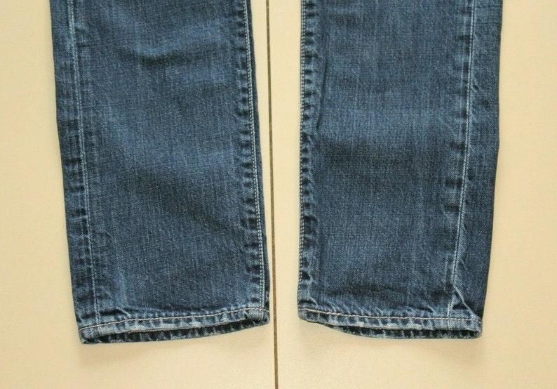 Vintage Men/'s Blue Denim Levi/'s 508 Zip Slim Straight Western Casual Jeans Size 29 L 32