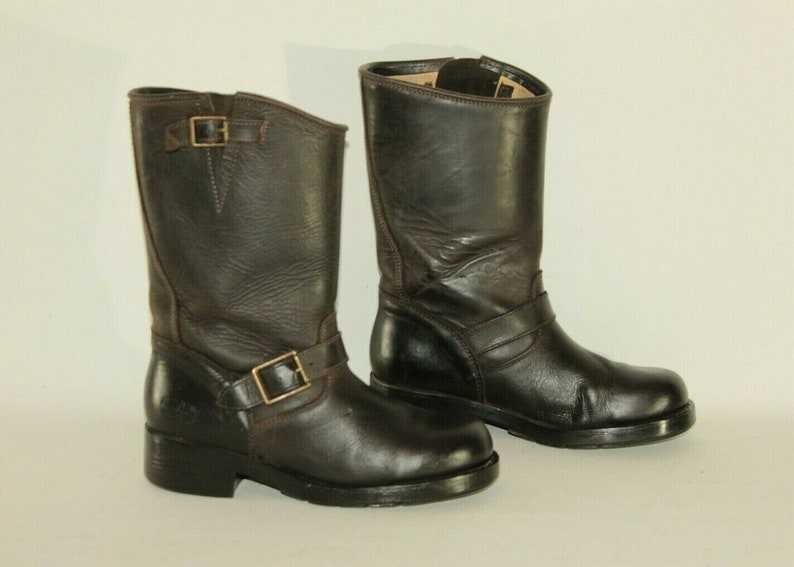 Walter Bauer Shoes | Brown Leather Lined Boots Size 75