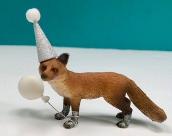 Fox Cake Topper, Fox Party Cake Topper, Woodland Animal Cake, Party Animals, Fox Decoration, Cake Decoration, Keepsake