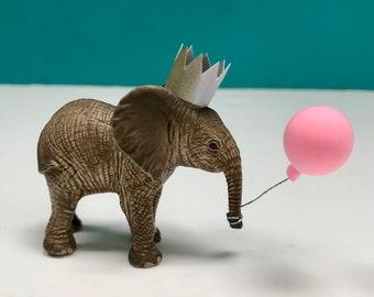 Baby Elephant Cake Topper, Elephant Party Cake Topper, Animal Cake, Party Animals, Elephant Decoration, Cake Decoration, Keepsake
