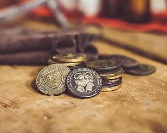 The Witcher 3  Oren  -  Temerian coin geralt cosplay