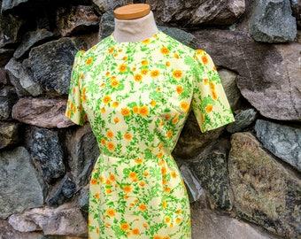 Vintage Handmade Yellow Sundress