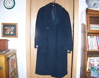 """Vintage Men's Wool """"Kashma"""" Coat"""