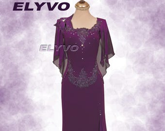 56976dbcf54 evening-dress-purple-plum-plus-size-maxi-dress-convertible-formal-dress -embroidered-wedding-guest-mother of the bride-dress-elyvo-long-lace
