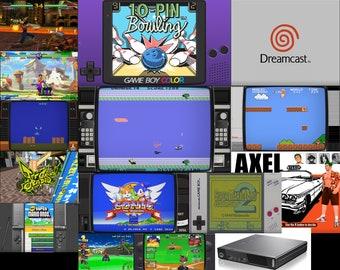 RetroPie Image Digital Download 6320 Retro Games Arcade NES