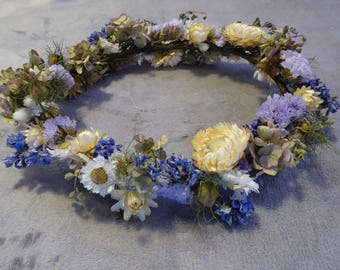 Mixed Dried Flower Crown