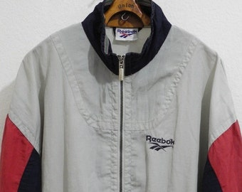 7e65d3c081552 Think Pink Vintage Reversible Fleece Jacket L/XL Pink Navy 90S | Etsy