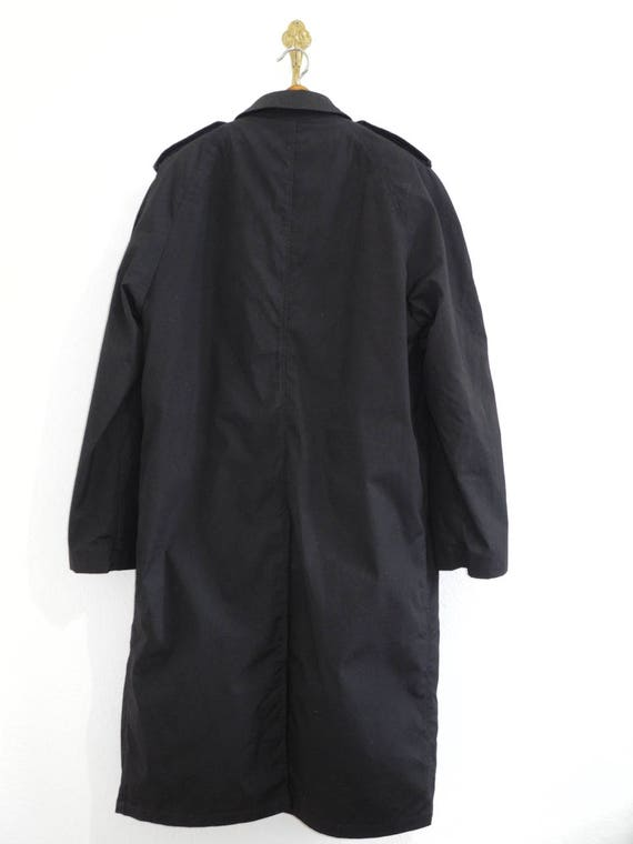 Fleece XL Coat Military Cold Army L Style Extreme All Weather Trenchcoat Lining Black Detachable Weather wqwEf8X