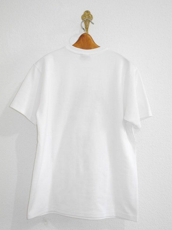Ugra Husky T Shirt ML White Psychedelic Festival Indian Biker