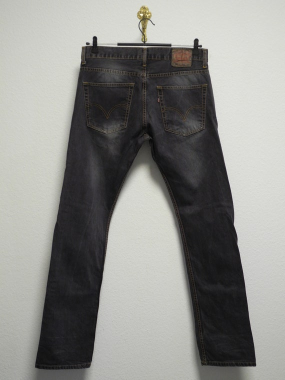 Levi's 501 Made in USA 34/34 Jeans Black Washed St