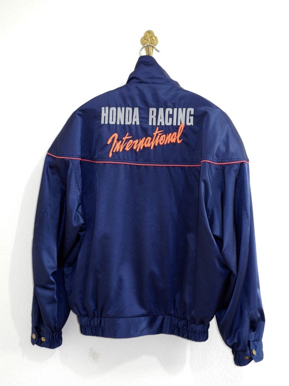 Red L Blue Racer M Drive Racing Jacket Cafe Vintage International Team Honda Bomber Akira Biker Original vqPCwx6I